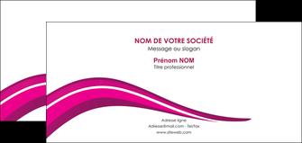 exemple carte de correspondance web design violet fond violet arriere plan MIF80335