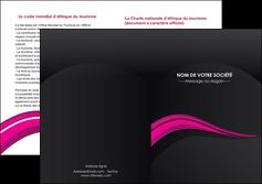 imprimerie depliant 2 volets  4 pages  web design violet fond violet arriere plan MLGI80337