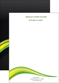 exemple flyers paysage vert gris nature MLIGBE80353