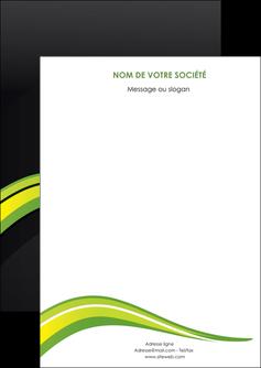 exemple flyers paysage vert gris nature MIF80353