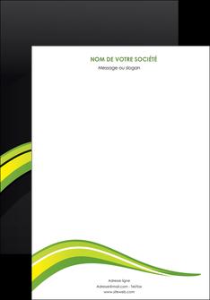 modele affiche paysage vert gris nature MIF80355
