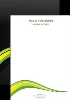 faire modele a imprimer affiche paysage vert gris nature MIF80357