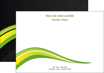 imprimerie flyers paysage vert gris nature MLIGBE80373