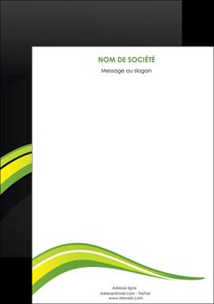 creer modele en ligne affiche paysage vert gris nature MIF80391