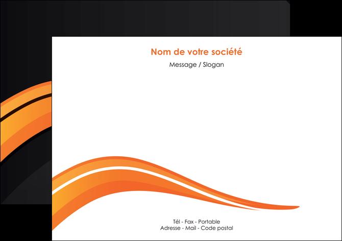 imprimerie flyers web design orange gris couleur froide MLGI80425