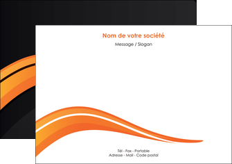 imprimerie flyers web design orange gris couleur froide MIS80425