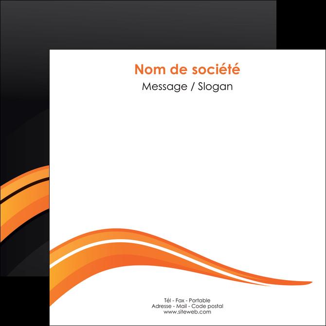 imprimerie flyers web design orange gris couleur froide MLGI80433