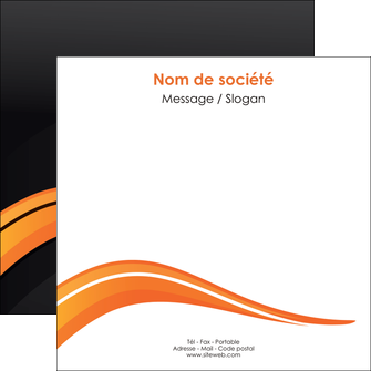 imprimerie flyers web design orange gris couleur froide MIF80433