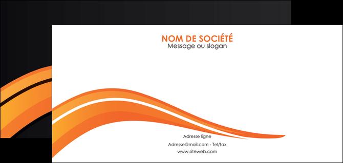 realiser flyers web design orange gris couleur froide MLGI80437