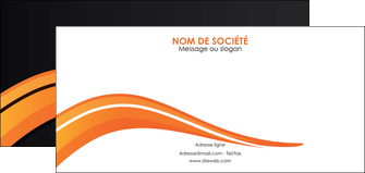 realiser flyers web design orange gris couleur froide MIF80437