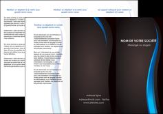personnaliser modele de depliant 3 volets  6 pages  web design gris fond gris fond MLGI80829