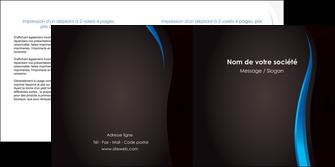 creer modele en ligne depliant 2 volets  4 pages  web design gris fond gris fond MLGI80833