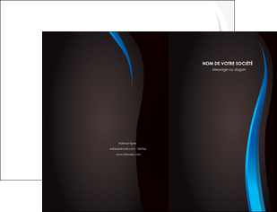 personnaliser modele de pochette a rabat web design gris fond gris fond MLIG80853
