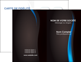 personnaliser modele de carte de visite web design gris fond gris fond MLGI80855