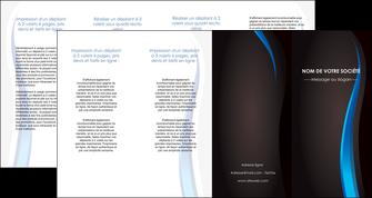 modele en ligne depliant 4 volets  8 pages  web design gris fond gris fond MLGI80871