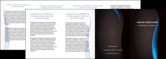 realiser depliant 4 volets  8 pages  web design gris fond gris fond MLGI80873