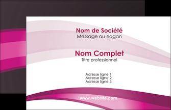 Cree Carte De Visite Restaurant Rose Fond Texture MLGI80979