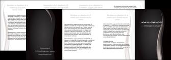 faire modele a imprimer depliant 4 volets  8 pages  web design gris fond gris simple MLGI81195