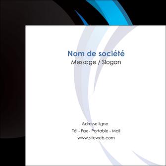 personnaliser modele de flyers web design bleu couleurs froides abstrait MLGI81315