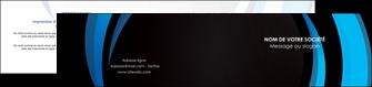 cree depliant 2 volets  4 pages  web design bleu couleurs froides abstrait MLGI81317