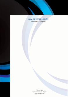 creation graphique en ligne affiche web design bleu couleurs froides abstrait MLGI81337
