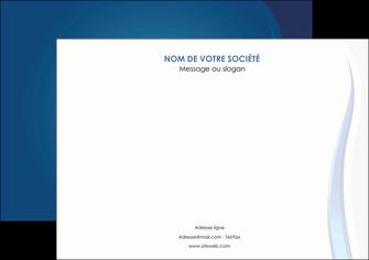 creation graphique en ligne affiche web design bleu couleurs froides fond bleu MIF81577