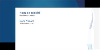 personnaliser modele de enveloppe web design bleu couleurs froides fond bleu MIF81595