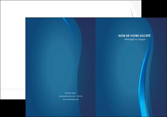 modele en ligne pochette a rabat web design bleu couleurs froides fond bleu MIF81605