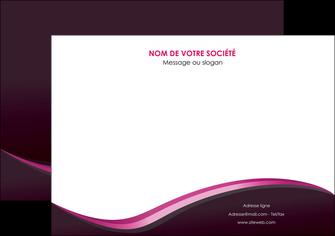 imprimerie affiche web design violet noir fond noir MLIG81941