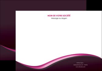 creation graphique en ligne affiche web design violet noir fond noir MLIG81943