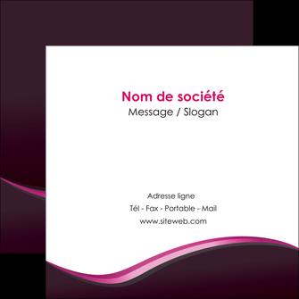 cree flyers web design violet noir fond noir MLIG81955