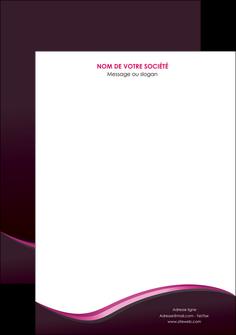 maquette en ligne a personnaliser affiche web design violet noir fond noir MLIG81977