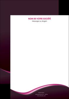faire affiche web design violet noir fond noir MLIG81979