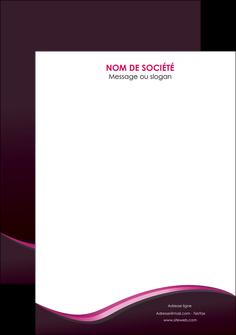 faire modele a imprimer flyers web design violet noir fond noir MLIG81987