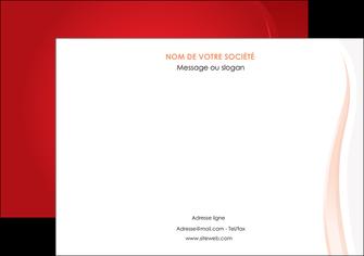 modele en ligne affiche web design rouge couleur colore MIF82297