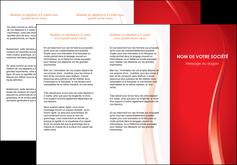 Commander Plaquette pub Web Design modèle graphique pour devis d'imprimeur Dépliant 6 pages pli accordéon DL - Portrait (10x21cm lorsque fermé)