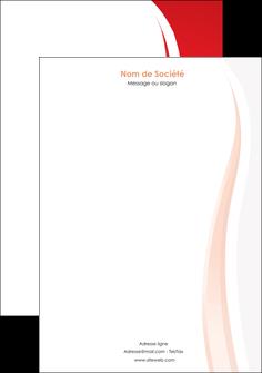 cree tete de lettre web design rouge couleur colore MIF82305