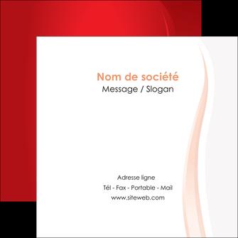 creation graphique en ligne flyers web design rouge couleur colore MIF82307