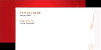 impression enveloppe web design rouge couleur colore MIF82311