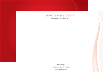 creer modele en ligne affiche web design rouge couleur colore MLIGBE82315