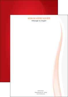 exemple affiche web design rouge couleur colore MLIGBE82331