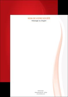 exemple affiche web design rouge couleur colore MIF82331