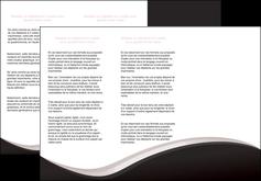 creer modele en ligne depliant 3 volets  6 pages  web design gris rose fond gris MLGI83699