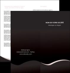 imprimer depliant 2 volets  4 pages  web design gris rose fond gris MLGI83701