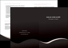 maquette en ligne a personnaliser depliant 2 volets  4 pages  web design gris rose fond gris MLGI83713