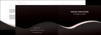 modele en ligne depliant 2 volets  4 pages  web design gris rose fond gris MLGI83717
