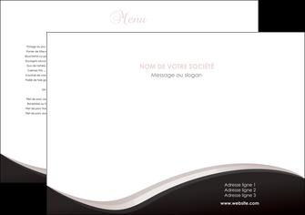 imprimerie set de table web design gris rose fond gris MLGI83733