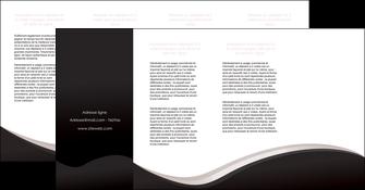 imprimer depliant 4 volets  8 pages  web design gris rose fond gris MLGI83741
