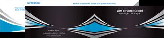 imprimer depliant 2 volets  4 pages  web design abstrait arriere plan bande MIF84389