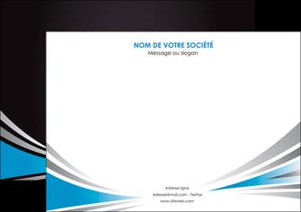 faire modele a imprimer affiche web design abstrait arriere plan bande MIF84395